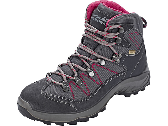 High Colorado Ultra Hike Mid High Tex Hiking Shoes Women anthracite/berry